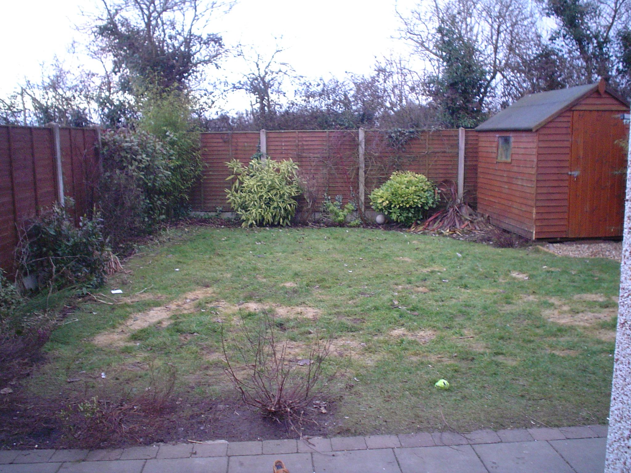 Pvt. Garden, Kildare - Before